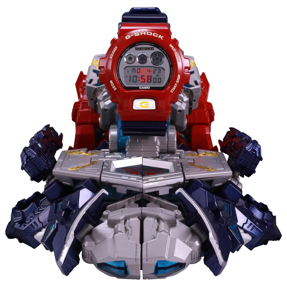 【抽選販売】トランスフォーマー 『G-SHOCK × TRANSFORMERS マスターオプティマスプライム レゾナントモード(G-SHOCKセット)』可変可動フィギュア-006