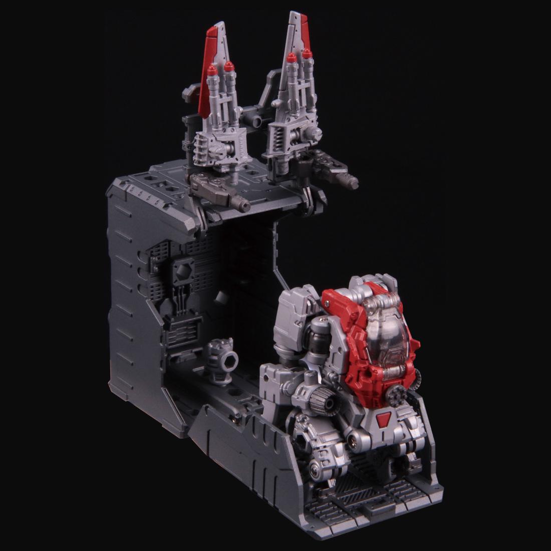ダイアクロン『DA-30 パワードシステム マニューバ ガンマ&デルタ セット(宇宙海兵隊/空中戦術部隊 Ver.)』可動フィギュア-009