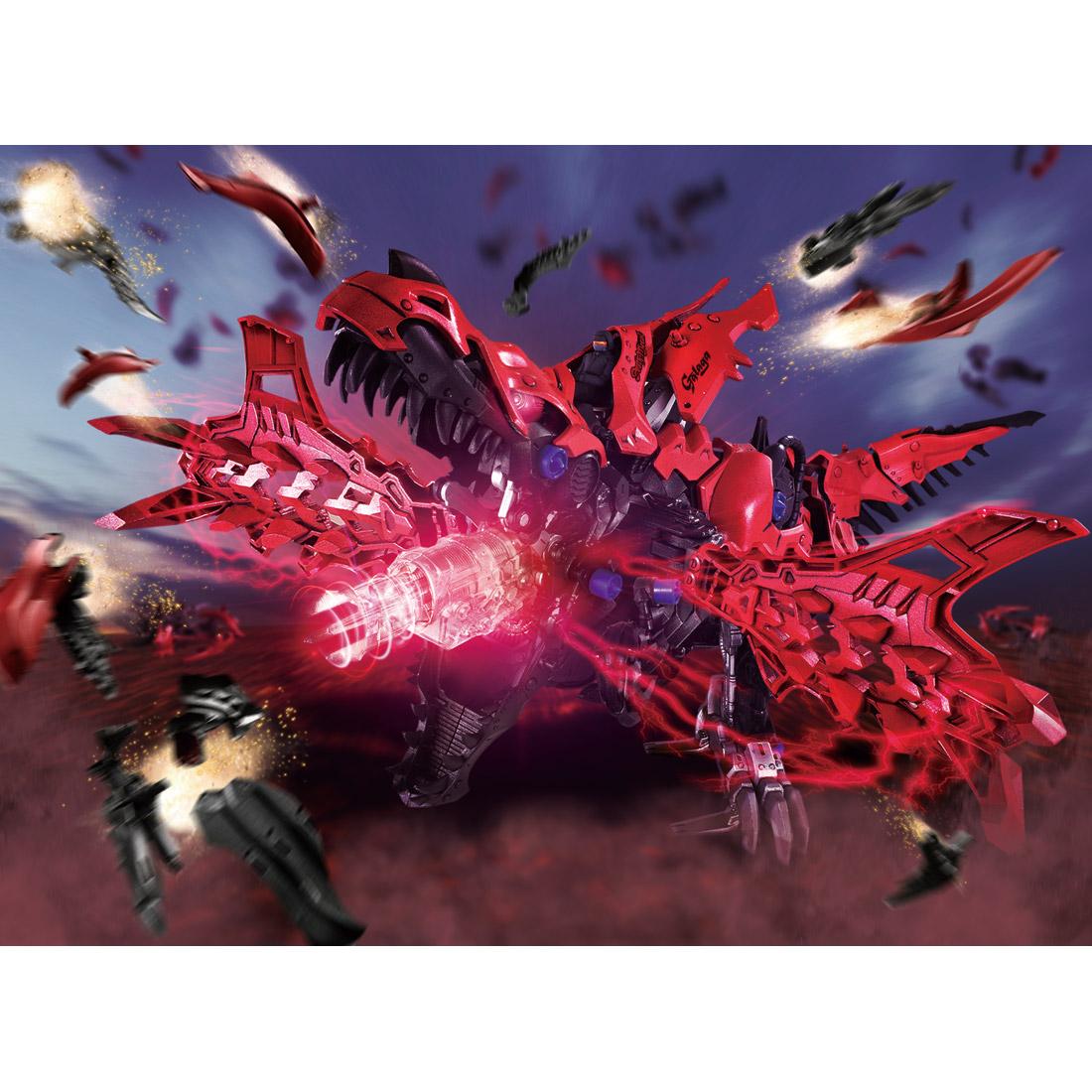 ZOIDS『ZW12 デスレックス』ゾイドワイルド 組立キット-007