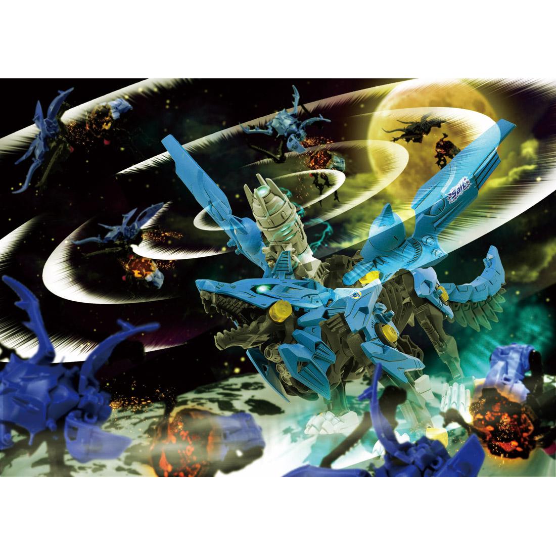 ZOIDS『ZW16 ハンターウルフ』ゾイドワイルド 組立キット-009