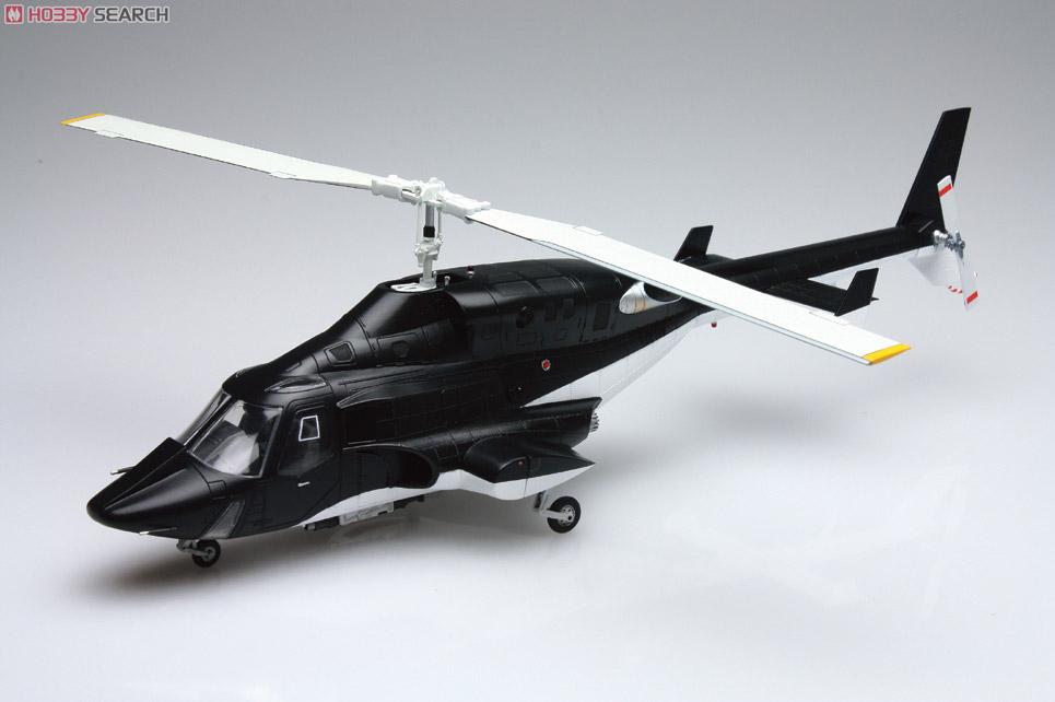 ムービーメカ『SP06 エアーウルフ クリアボディ付バージョン』1/48 プラモデル-002