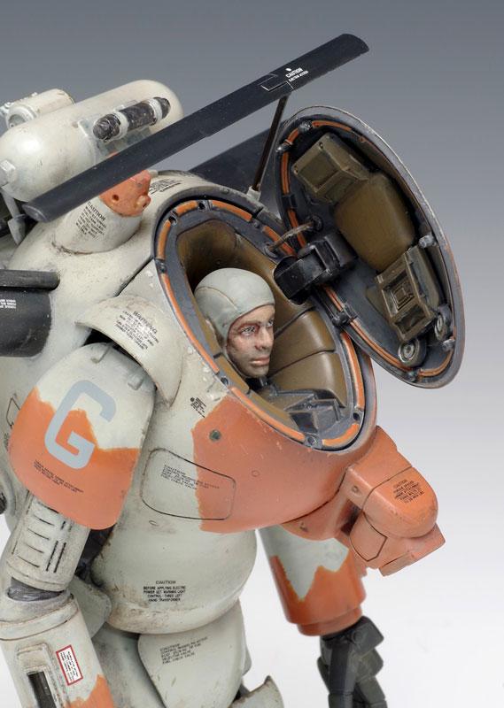 マシーネンクリーガー『S.A.F.S. R SPACE TYPE プラウラー』1/20 プラモデル-009