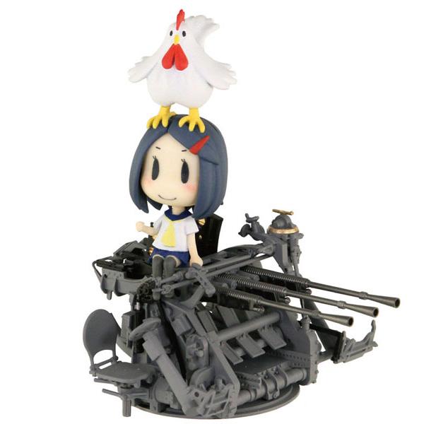 艦これ『妖精さんと25mm三連装機銃』艦隊これくしょん プラモデル
