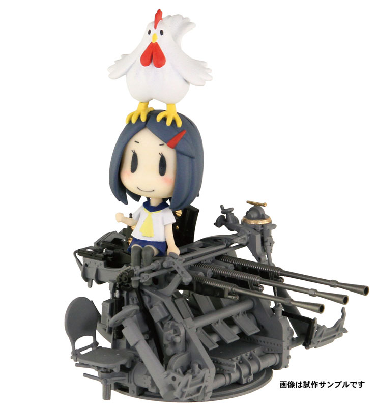 艦これ『妖精さんと25mm三連装機銃』艦隊これくしょん プラモデル-001