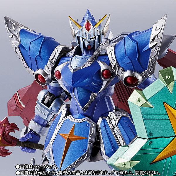 METAL ROBOT魂 〈SIDE MS〉『フルアーマー騎士ガンダム(リアルタイプver.)|SDガンダム外伝』可動フィギュア