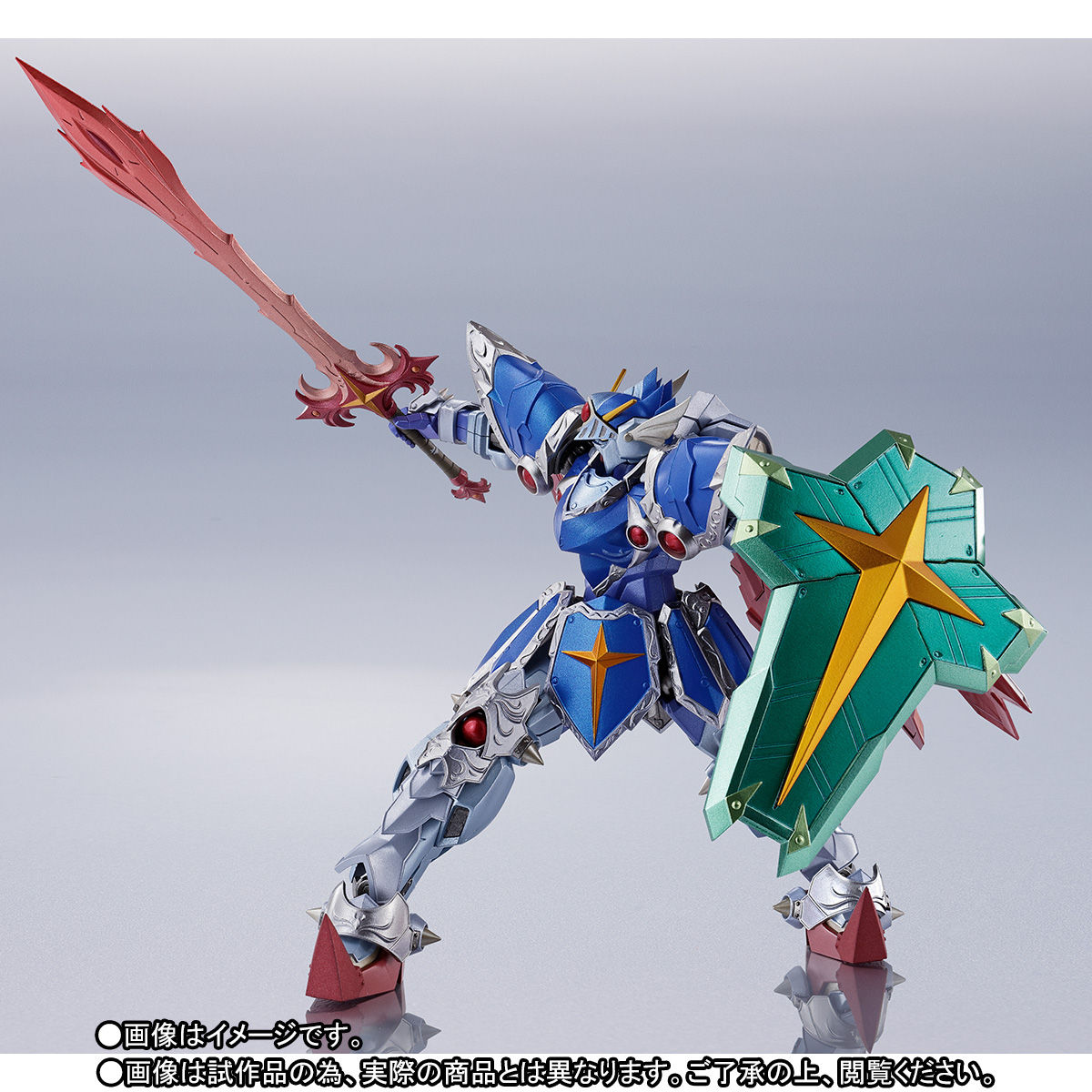 METAL ROBOT魂 〈SIDE MS〉『フルアーマー騎士ガンダム(リアルタイプver.)|SDガンダム外伝』可動フィギュア-004