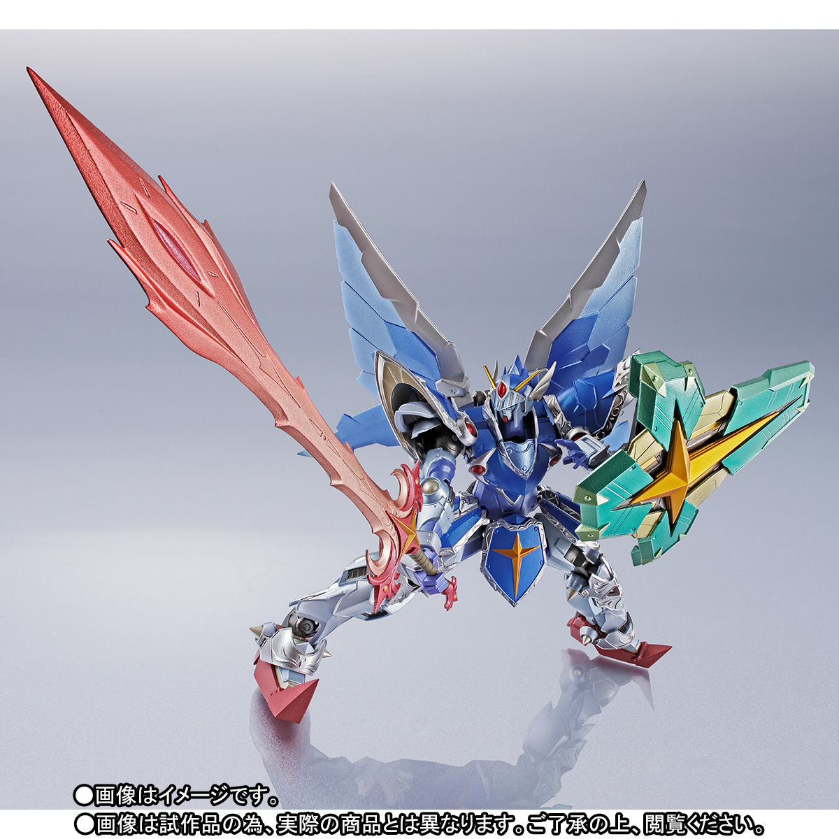 METAL ROBOT魂 〈SIDE MS〉『フルアーマー騎士ガンダム(リアルタイプver.)|SDガンダム外伝』可動フィギュア-008