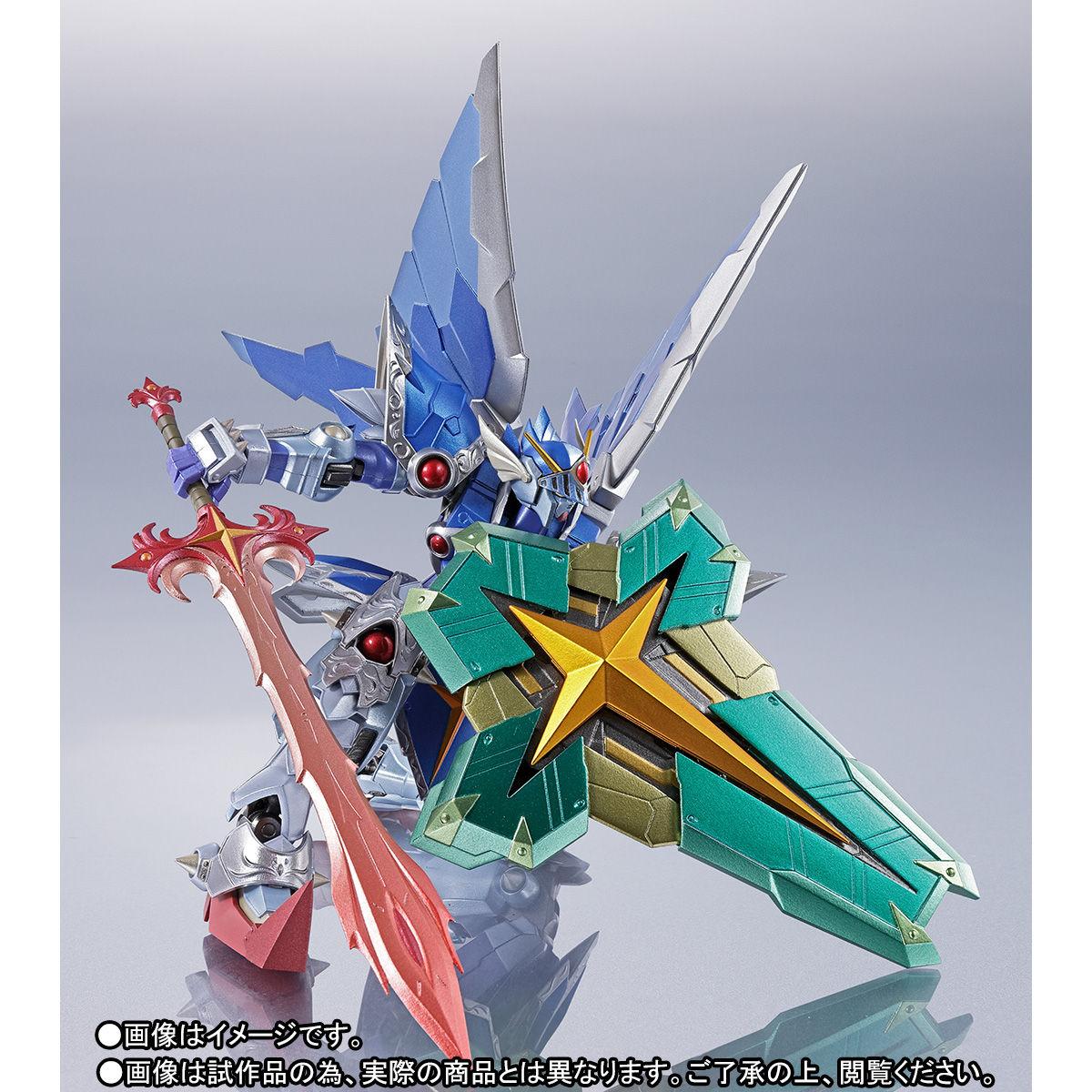 METAL ROBOT魂 〈SIDE MS〉『フルアーマー騎士ガンダム(リアルタイプver.)|SDガンダム外伝』可動フィギュア-009