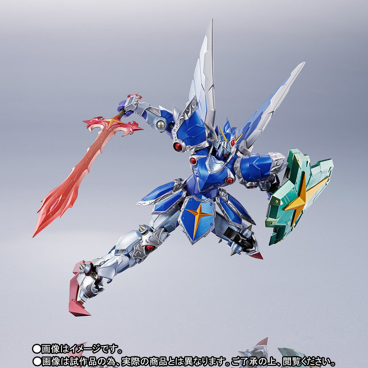 METAL ROBOT魂 〈SIDE MS〉『フルアーマー騎士ガンダム(リアルタイプver.)|SDガンダム外伝』可動フィギュア-010