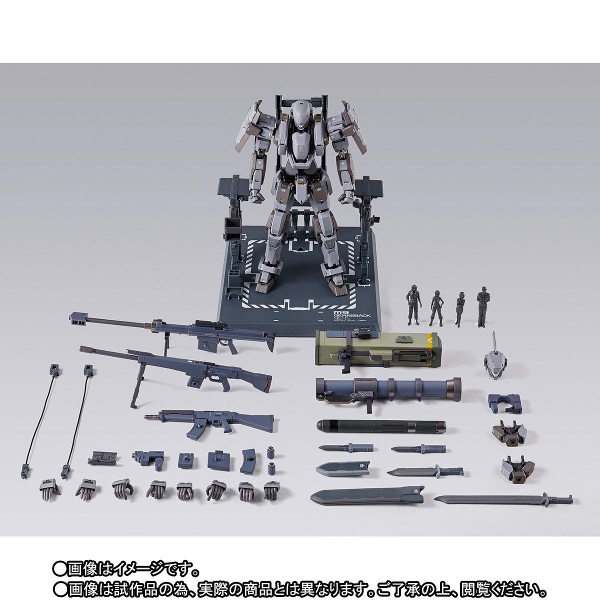 METAL BUILD『ガーンズバック Ver.IV|フルメタル・パニック!IV』可動フィギュア-002