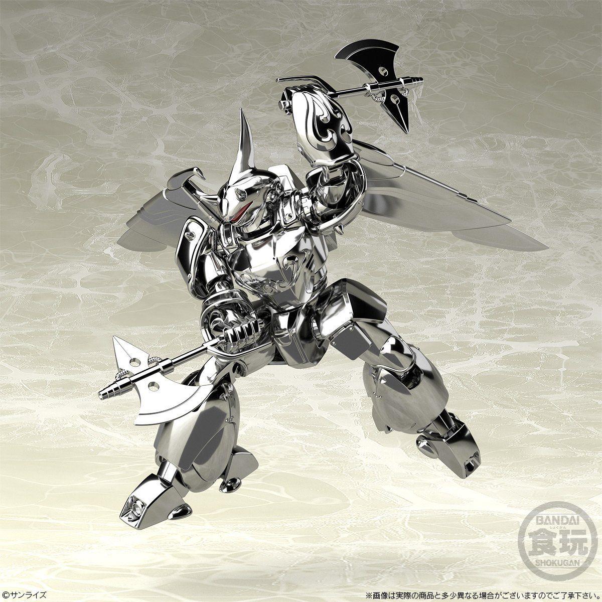 スーパーミニプラ『飛甲兵ウィンガル・ジー ハイ・シャルタット機 機甲界ガリアン』プラモデル-005