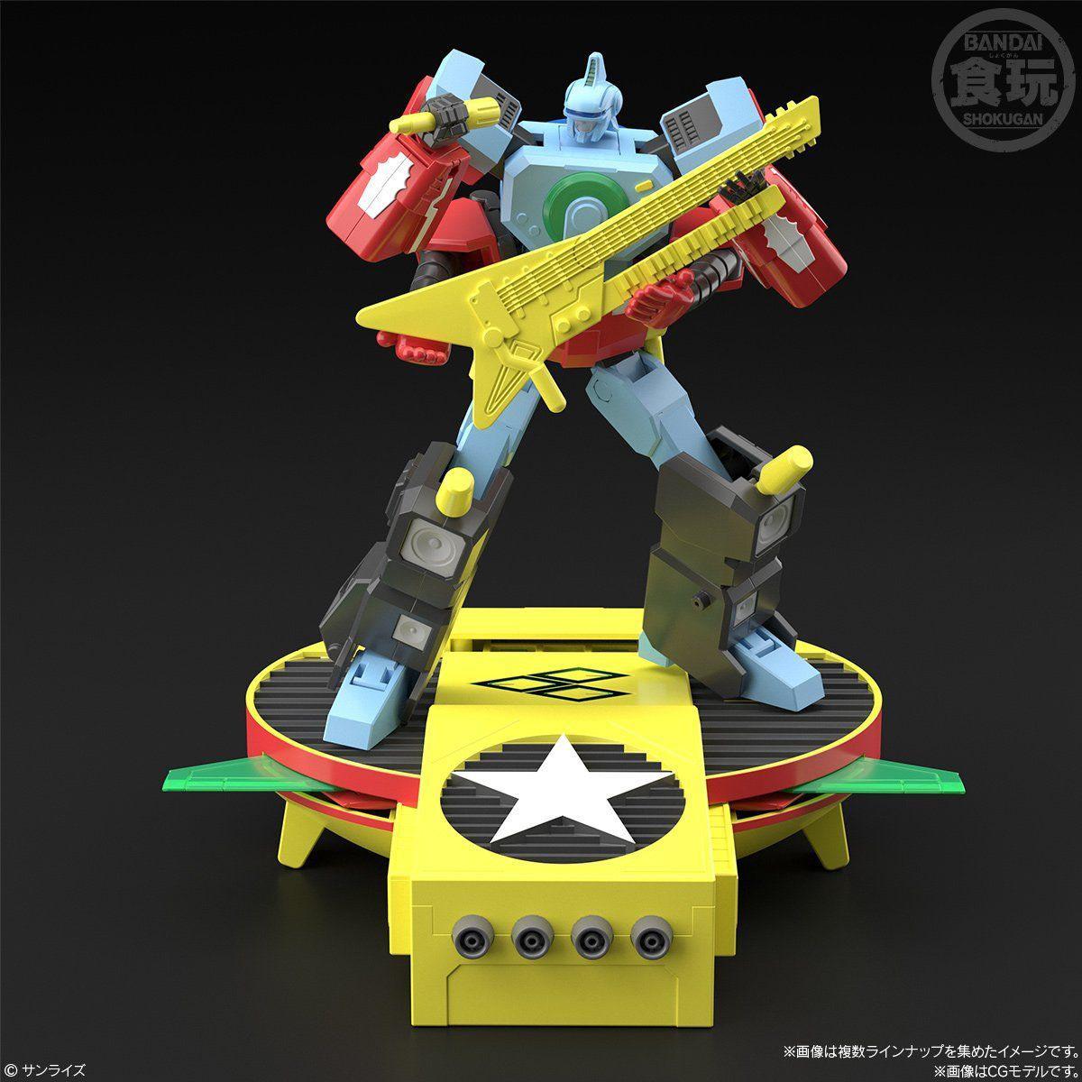 【食玩】スーパーミニプラ『勇者王ガオガイガー5』勇者王ガオガイガー プラモデル 3個入りBOX-010