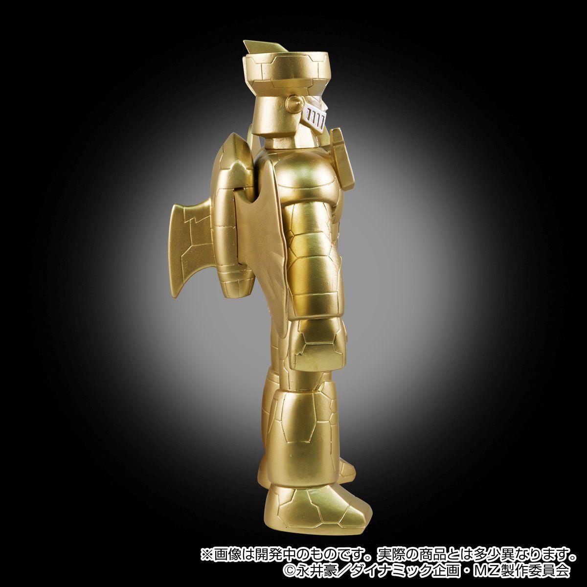 ブルマァクソフビ『マジンガーZ INFINITY|ジェットスクランダー付〔ゴールドVer.〕』ソフビ・フィギュア-002