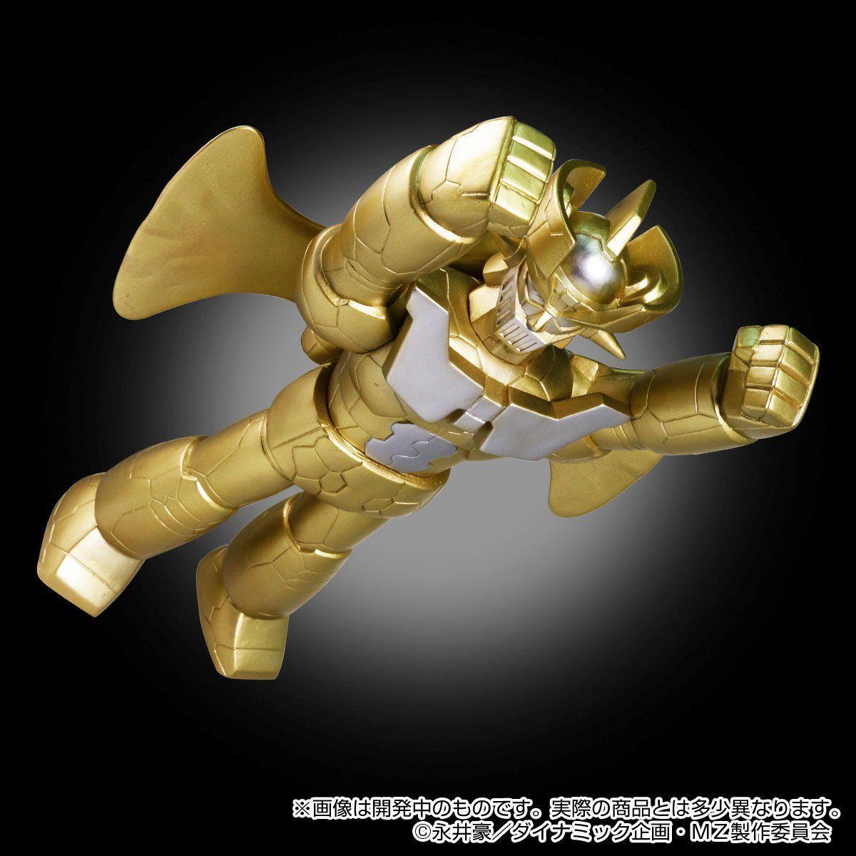 ブルマァクソフビ『マジンガーZ INFINITY|ジェットスクランダー付〔ゴールドVer.〕』ソフビ・フィギュア-005