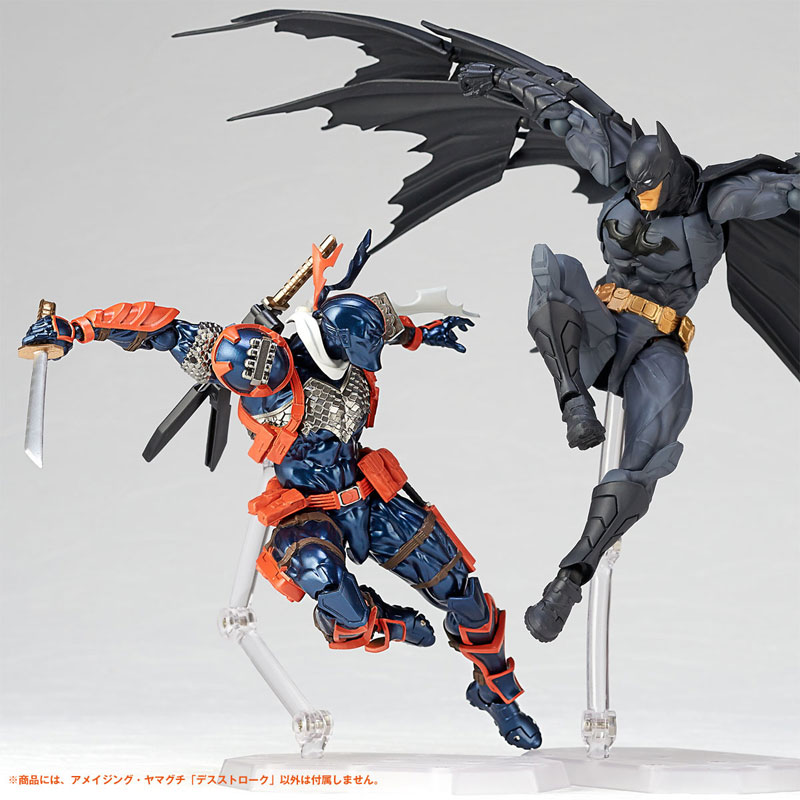 フィギュアコンプレックス アメイジング・ヤマグチ No.011『デスストローク』DCコミックス 可動フィギュア-011