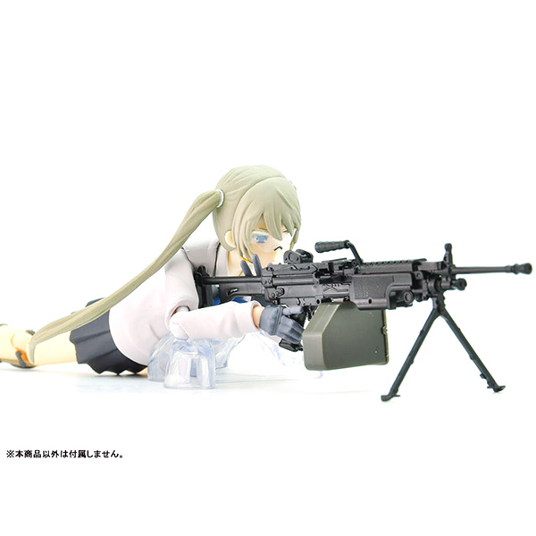 リトルアーモリー  LA046『5.56mm機関銃』1/12 プラモデル