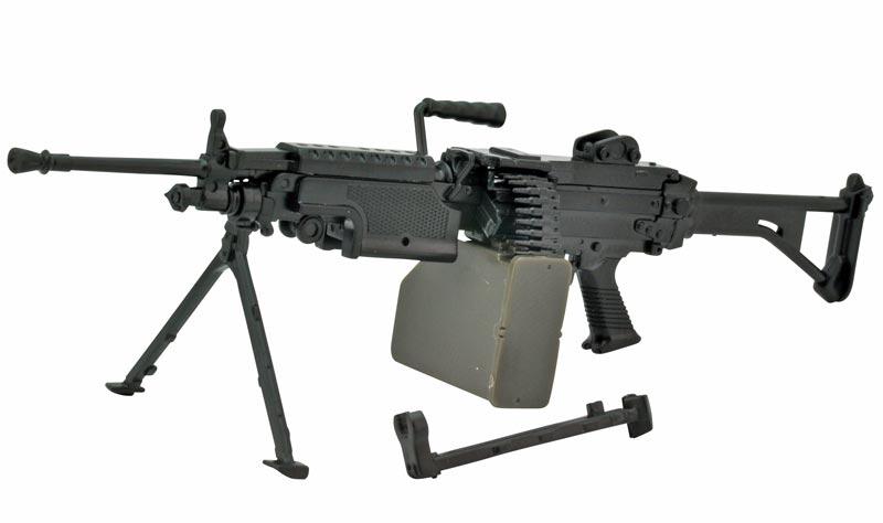 リトルアーモリー  LA046『5.56mm機関銃』1/12 プラモデル-001