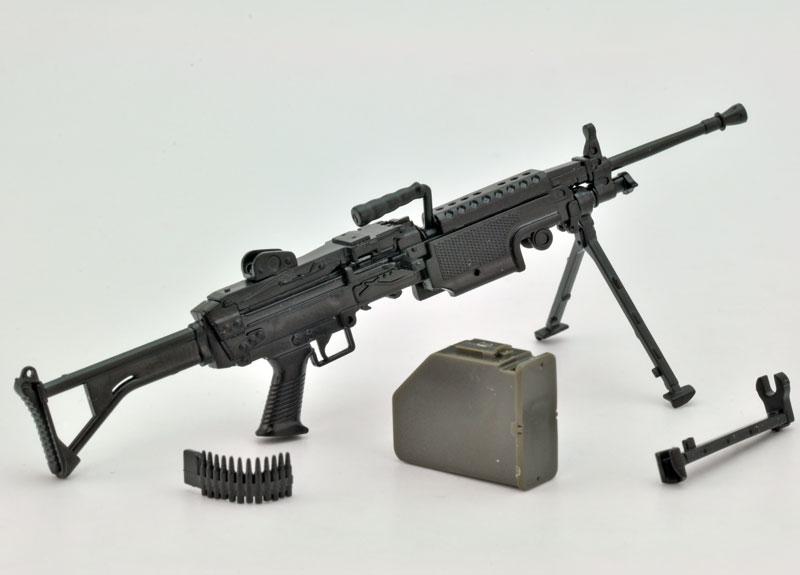 リトルアーモリー  LA046『5.56mm機関銃』1/12 プラモデル-002
