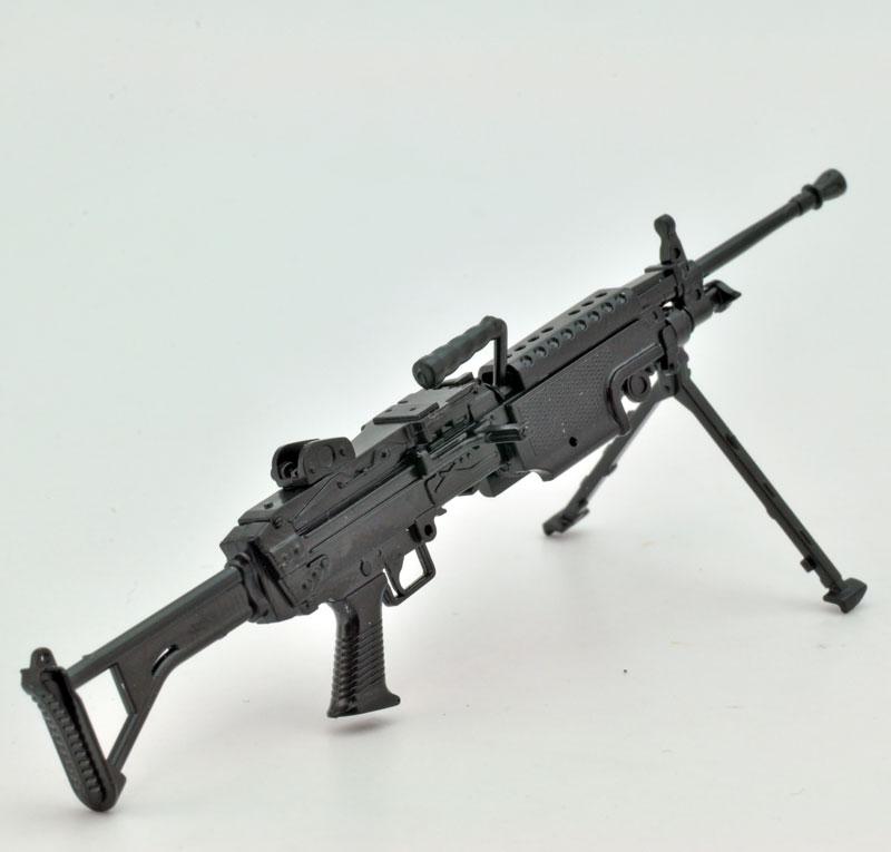 リトルアーモリー  LA046『5.56mm機関銃』1/12 プラモデル-003