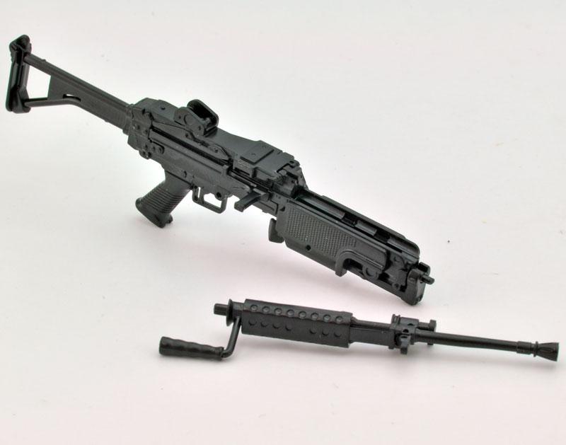 リトルアーモリー  LA046『5.56mm機関銃』1/12 プラモデル-004