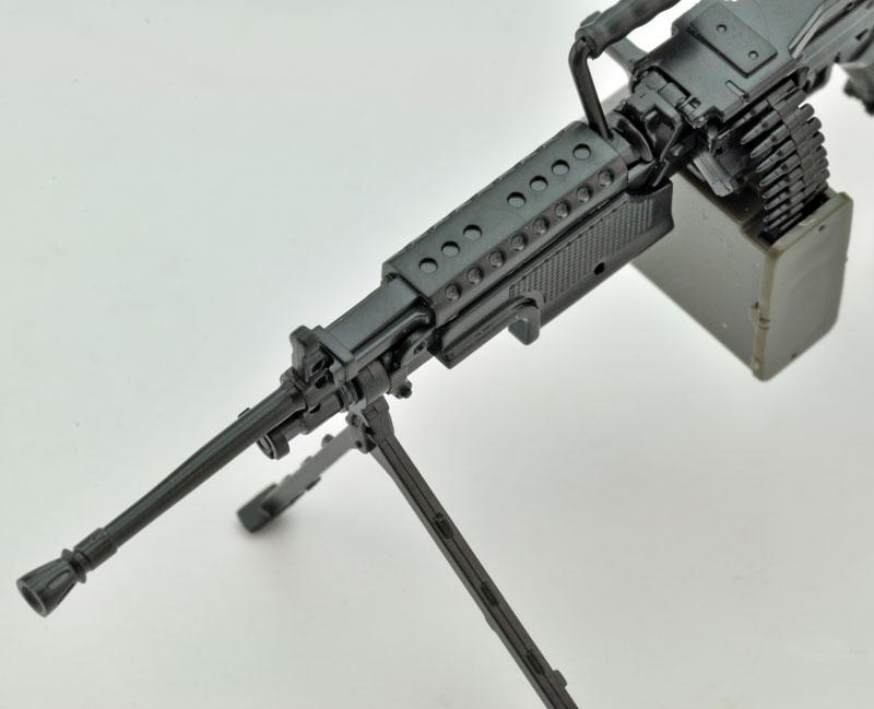 リトルアーモリー  LA046『5.56mm機関銃』1/12 プラモデル-006