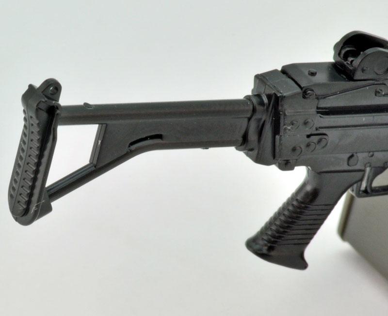 リトルアーモリー  LA046『5.56mm機関銃』1/12 プラモデル-008