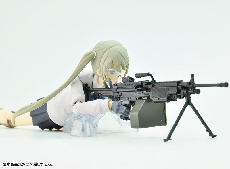 リトルアーモリー  LA046『5.56mm機関銃』1/12 プラモデル-010