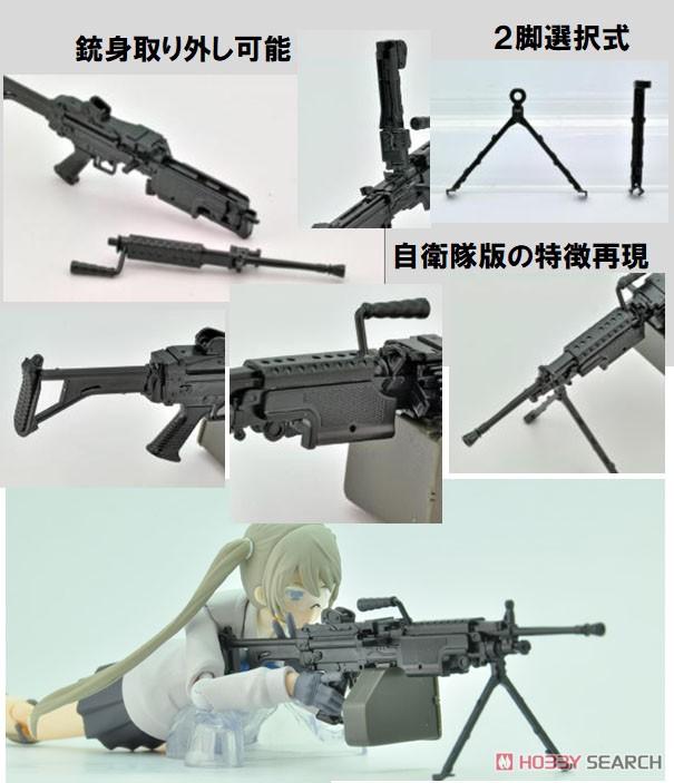 リトルアーモリー  LA046『5.56mm機関銃』1/12 プラモデル-011