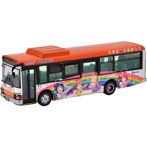 全国バスコレクション 1/80『東海バスオレンジシャトル ラブライブ!サンシャイン!! ラッピングバス2号車』塗装組立済モデル