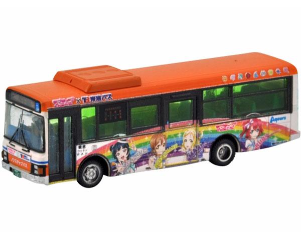 ザ・バスコレクション 1/150『東海バスオレンジシャトル ラブライブ!サンシャイン!! ラッピングバス2号車』Nゲージ-001