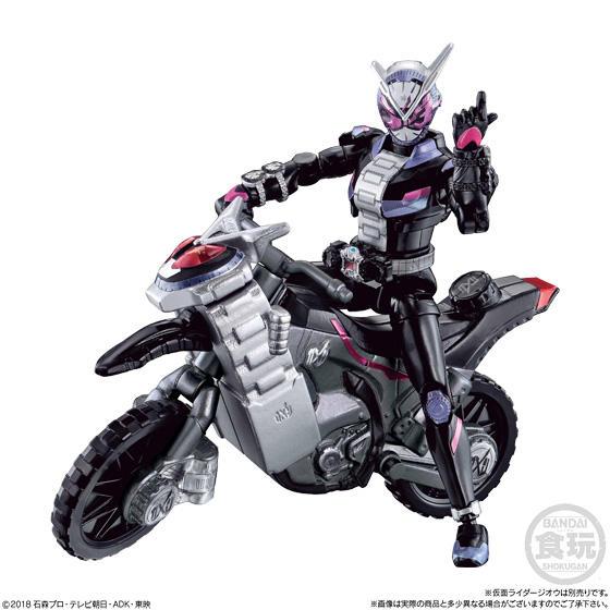 【食玩】装動『仮面ライダージオウ EX』セット 可動フィギュア-009
