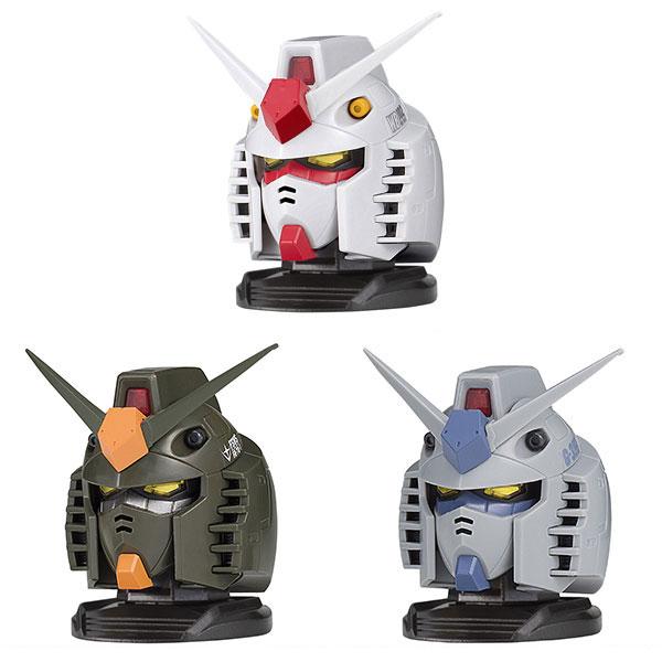 機動戦士ガンダム『EXCEED MODEL GUNDAM HEAD 01』9個入りBOX
