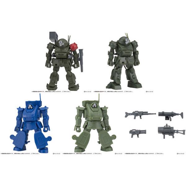 ガシャプラ『装甲騎兵ボトムズ02』ガシャポン 10個入りBOX