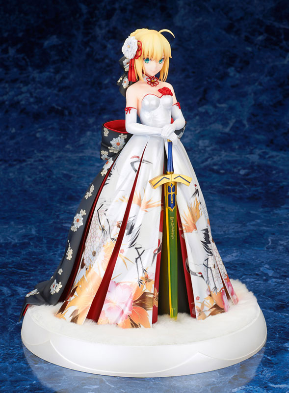 Fate/stay night『セイバー 着物ドレスVer.』1/7 完成品フィギュア-001