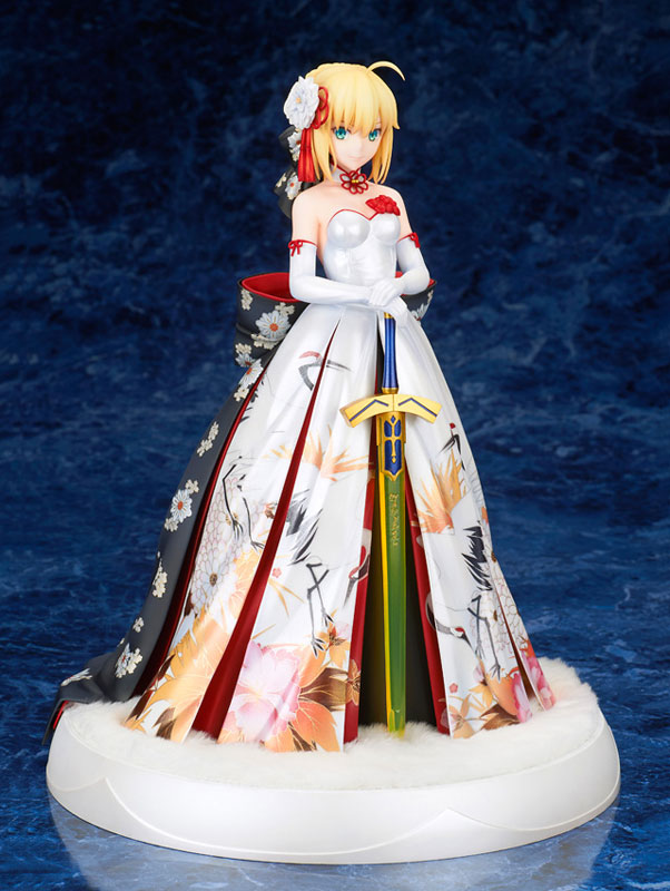 Fate/stay night『セイバー 着物ドレスVer.』1/7 完成品フィギュア-002