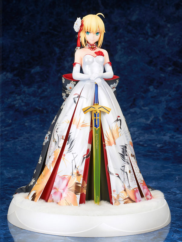 Fate/stay night『セイバー 着物ドレスVer.』1/7 完成品フィギュア-004
