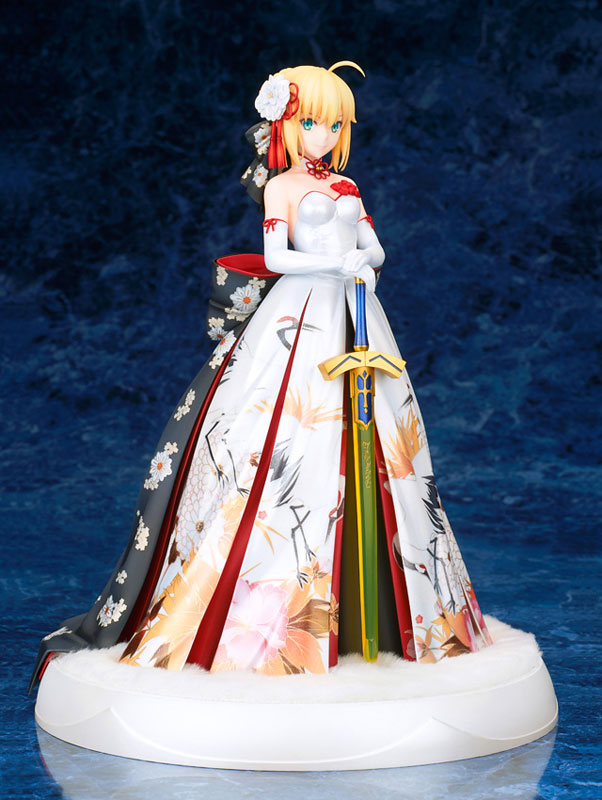 Fate/stay night『セイバー 着物ドレスVer.』1/7 完成品フィギュア-005