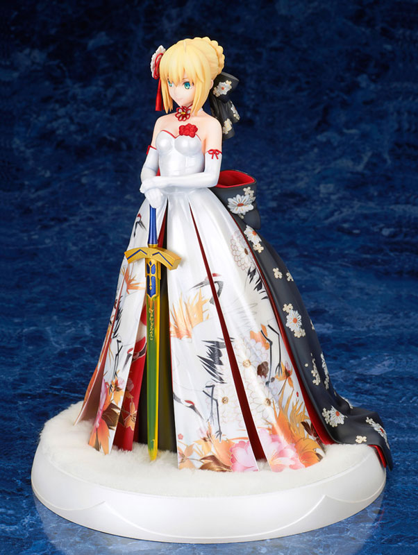 Fate/stay night『セイバー 着物ドレスVer.』1/7 完成品フィギュア-006
