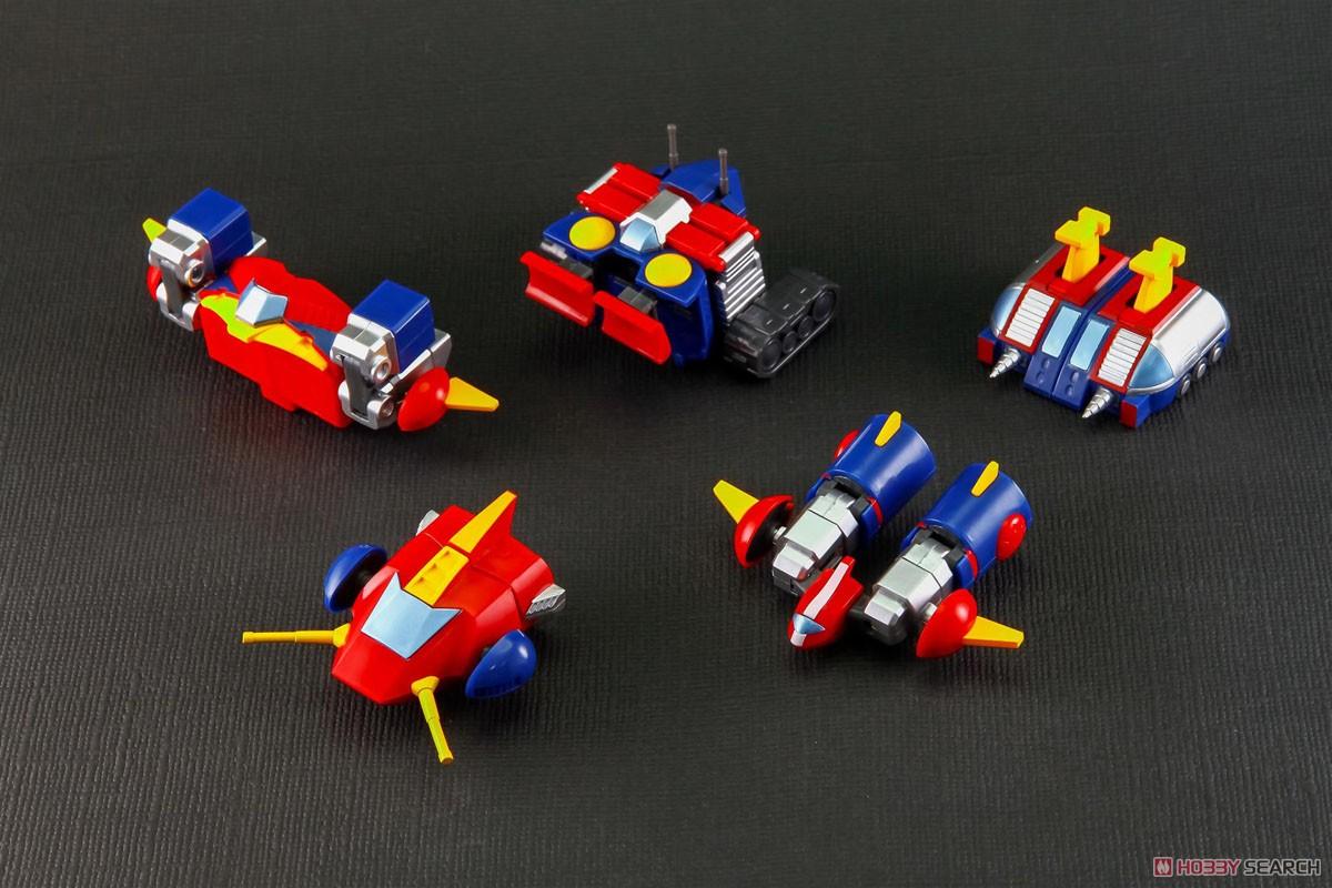 MINI DERFRMED『コン・バトラーV』超電磁ロボ コン・バトラーV 合体可動フィギュア-003