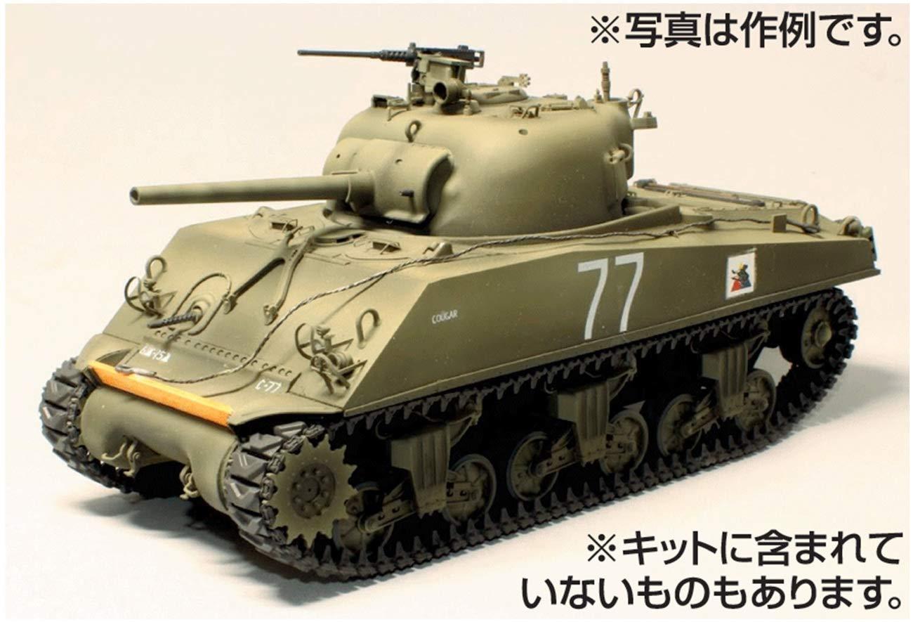 """1/35『M4A3 75mm 後期型 """"クーガー""""』プラモデル-001"""