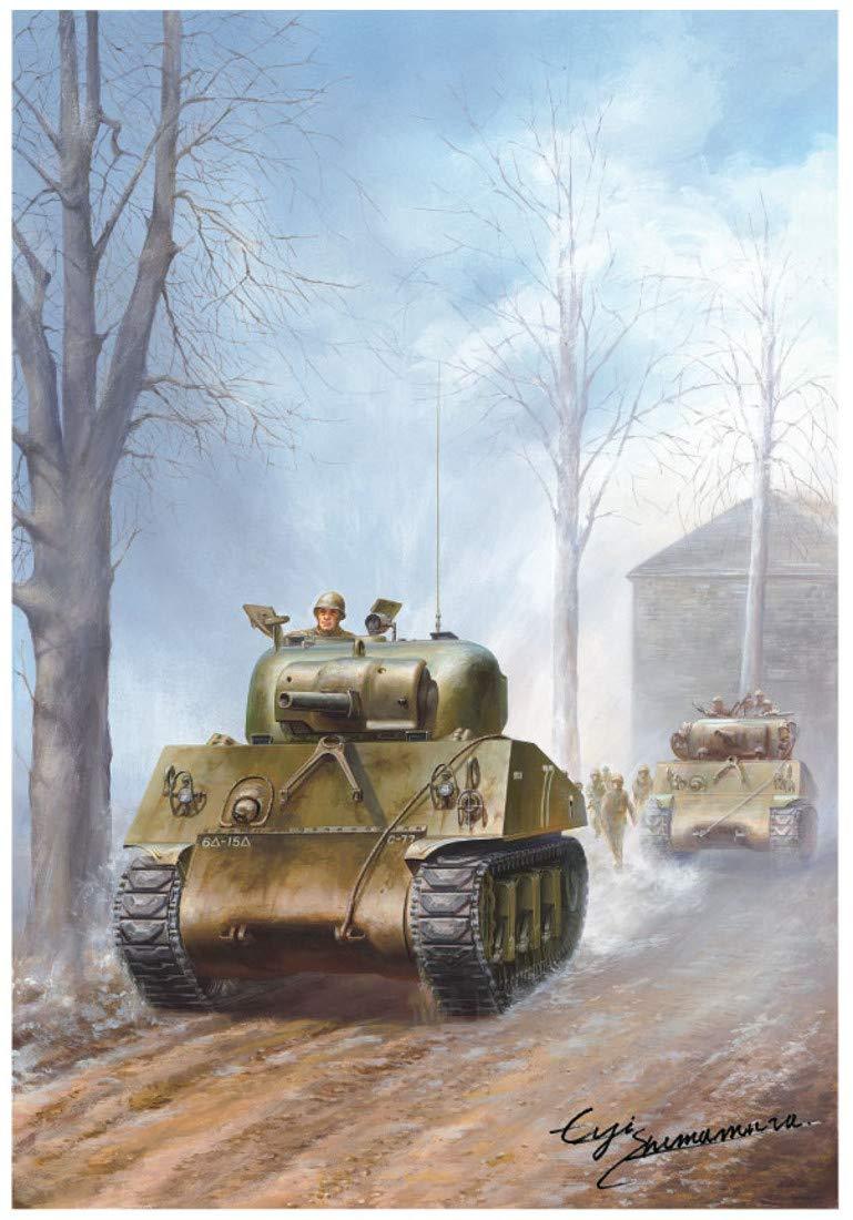 """1/35『M4A3 75mm 後期型 """"クーガー""""』プラモデル-003"""