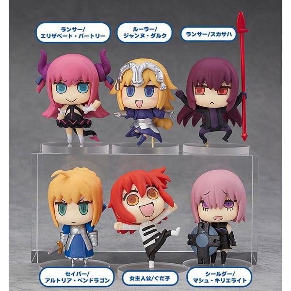 【再販】『マンガで分かる!Fate/Grand Order トレーディングフィギュア』6個入りBOX