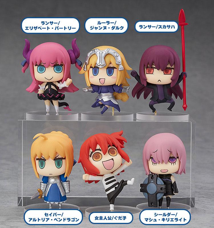【再販】『マンガで分かる!Fate/Grand Order トレーディングフィギュア』6個入りBOX-001