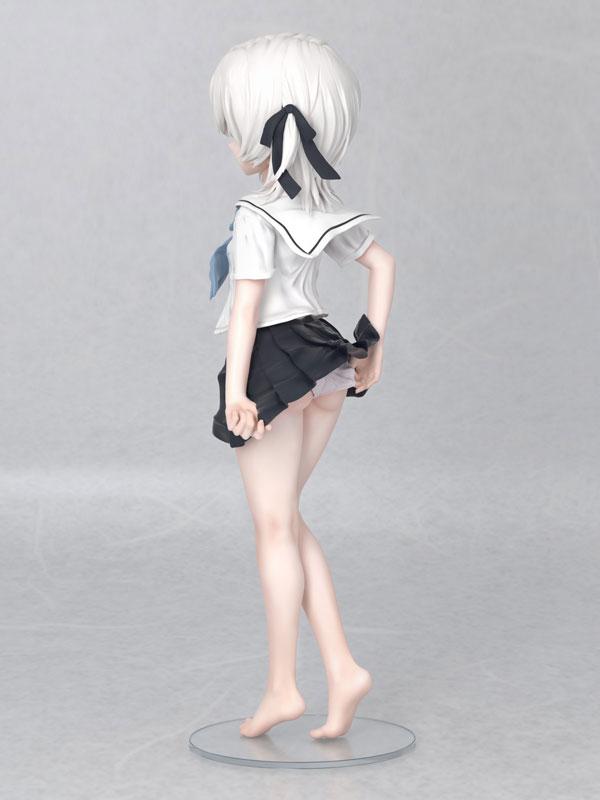 かぷりちお 色素薄いJC『眞白いこね』1/5 完成品フィギュア-008
