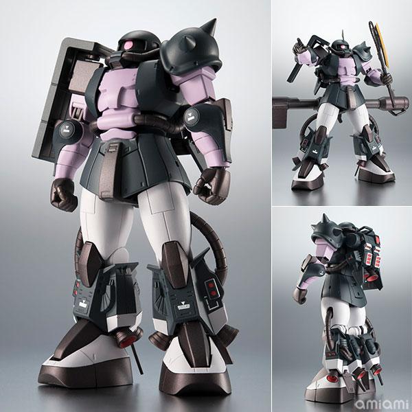 ROBOT魂〈SIDE MS〉『MS-06R-1A 高機動型ザクII ver. A.N.I.M.E.~黒い三連星~』機動戦士ガンダム モビルスーツバリエーション(MSV)可動フィギュア