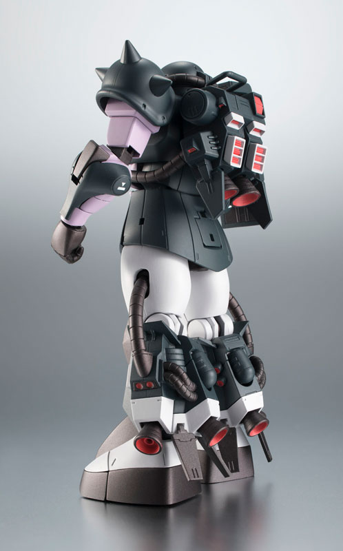 ROBOT魂〈SIDE MS〉『MS-06R-1A 高機動型ザクII ver. A.N.I.M.E.~黒い三連星~』機動戦士ガンダム モビルスーツバリエーション(MSV)可動フィギュア-002