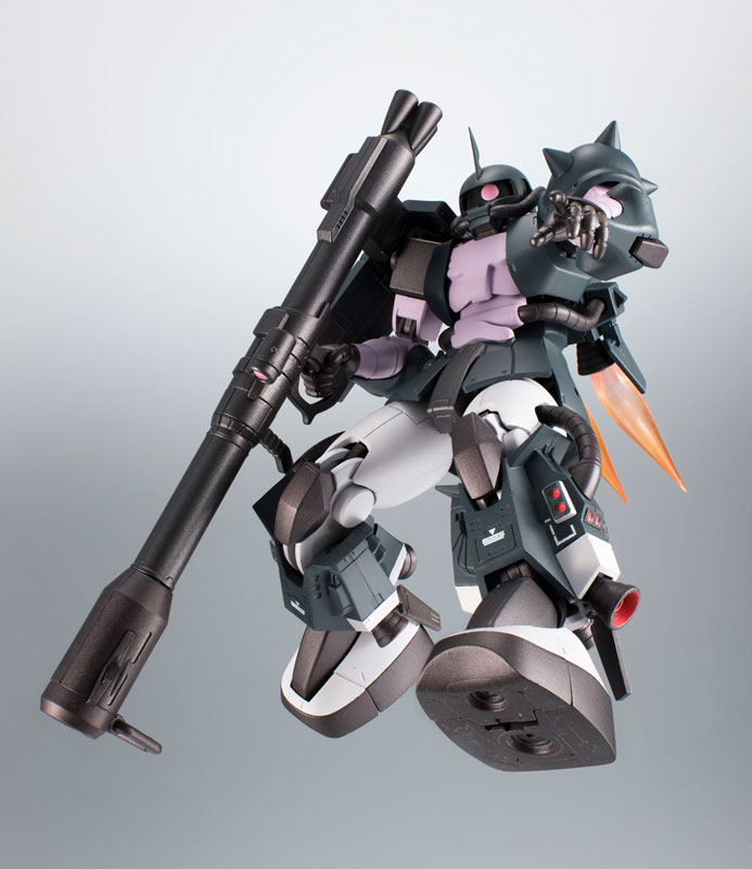 ROBOT魂〈SIDE MS〉『MS-06R-1A 高機動型ザクII ver. A.N.I.M.E.~黒い三連星~』機動戦士ガンダム モビルスーツバリエーション(MSV)可動フィギュア-003