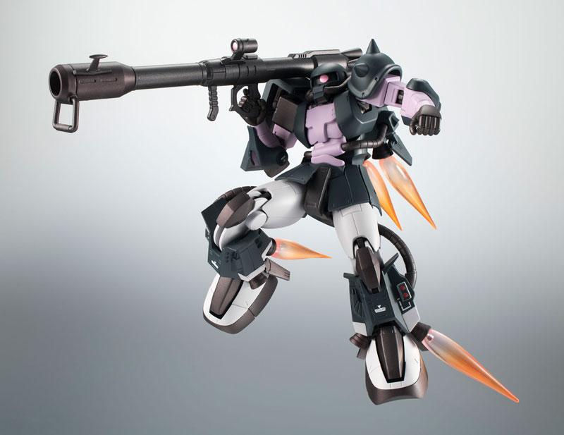 ROBOT魂〈SIDE MS〉『MS-06R-1A 高機動型ザクII ver. A.N.I.M.E.~黒い三連星~』機動戦士ガンダム モビルスーツバリエーション(MSV)可動フィギュア-004