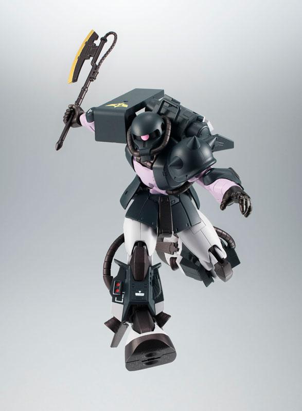 ROBOT魂〈SIDE MS〉『MS-06R-1A 高機動型ザクII ver. A.N.I.M.E.~黒い三連星~』機動戦士ガンダム モビルスーツバリエーション(MSV)可動フィギュア-005