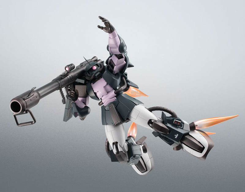 ROBOT魂〈SIDE MS〉『MS-06R-1A 高機動型ザクII ver. A.N.I.M.E.~黒い三連星~』機動戦士ガンダム モビルスーツバリエーション(MSV)可動フィギュア-006